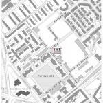 Grafik zur Benennung der Straßen mit geplantem SWK-Bauplatz